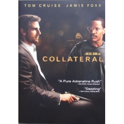 Collateral. Tom Cruise & Jamie Foxx. 1 DVD