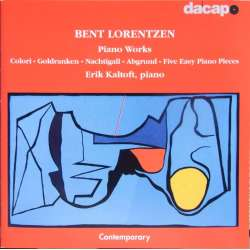 Bent Lorentzen: Piano Works. Erik Kaltoft. 1 CD. Dacapo