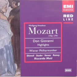 Mozart: Don Giovanni i uddrag. Riccardo Muti. 1 CD. EMI. Red Line
