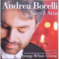 Andrea Bocelli. Sacred Arias. Myung-Whun Chung. 1 CD. Philips