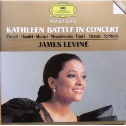 Kathleen Battle in Concert. James Levine. 1 CD. DG