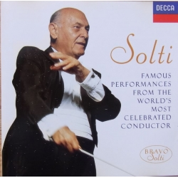 Georg Solti: Famous performances. 1 CD. Decca