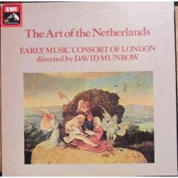 The Art of the Netherlands. David Munrow. 3 LP. EMI SLS 5049