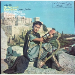 Gluck: Orfeo and Euridice. Stevens, Della-Casa, Peters. Monteux. 3 LP. RCA