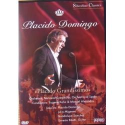 Placido Domingo Arias. Carmen, Porgy and Bess, Tosca, La Rondine. 1 DVD. Amado