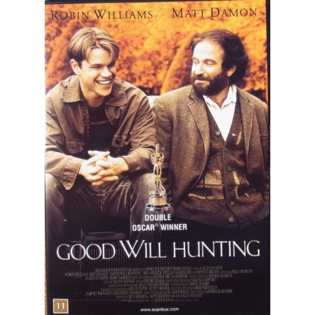 Good Will Hunting. Matt Damon and Robin Williams. 1 DVD