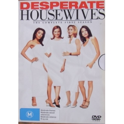 Desperate Housewives. ThDesperate Housewives. The Complete first season. Episodes 1-23. 6 DVD. Complete first season. 6 DVD