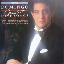 Placido Domingo: Greatest Love songs. Maria, Sinoney, Perhaps love (duets with John Denver), La Comparsa, Yesterday, 1 CD. Sony.