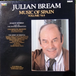Julian Bream. Music of Spain. Vol. 7 & 8. 2 LP. RCA