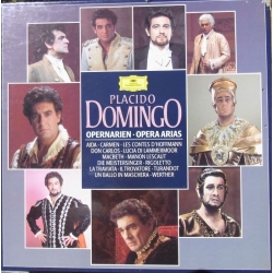 Placido Domingo. Opera Arias. 3 LP. DG. See Note