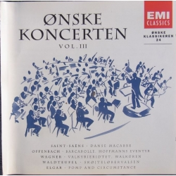 Ønskekoncerten. Volume 3. 1 CD. EMI.