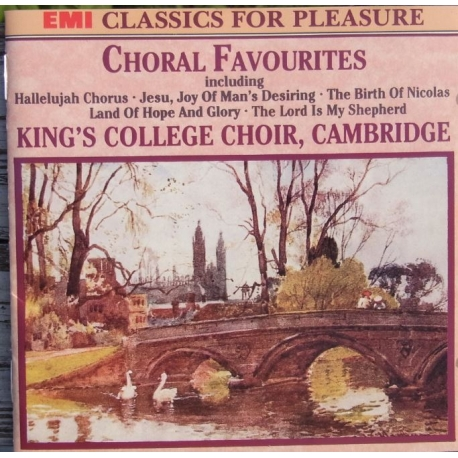 Choral Favourites. King's College Choir, Cambridge. 1 CD. EMI