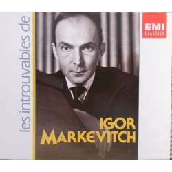 Igor Markevitch. Les Introuvables. 4 CD. EMI