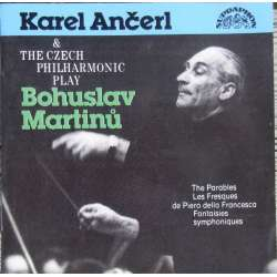 Martinu: The Parables, Les Fresques, Karel Ancerl, Czech Philharmonic Orchestra. 1 CD. Supraphon