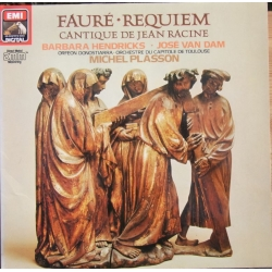 Faure: Requiem. Barbara Hendricks, Jose van Dam. Michel Plasson. 1 LP. EMI