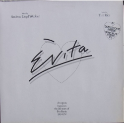 Andrew Lloyd-Webber: Evita. An opera based on the life story of Eva Peron. 2 LP. EMI