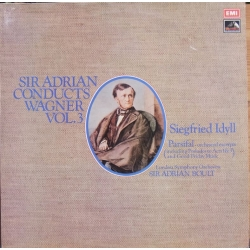 Sir Adrian Boult conducts Wagner. Vol. 3. 1 LP. EMI. ASD 3000
