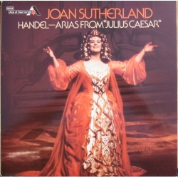 Joan Sutherland. Handel Arias from Julius Caesar. 1 LP. Decca