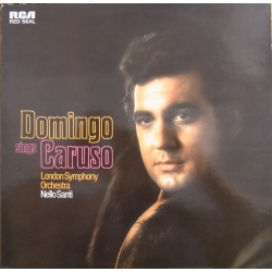 Domingo sings Caruso. London SO, Nello Santi. 1 LP. RCA