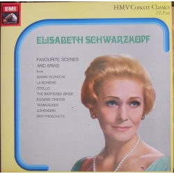 Elisabeth Schwarzkopf. Favourite scenes and arias. 2 LP. EMI