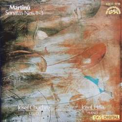 Martinu: Cellosonate nr. 1-3. Josef Chuchro & Josef Hala. 1 CD. Supraphon
