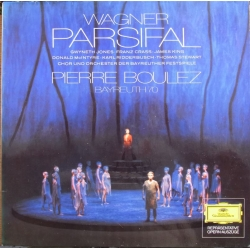 Wagner: Parsifal in highlights. Bayreuth 1970. Pierre Boulez. 1 LP. DG