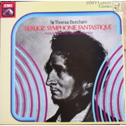 Berlioz: Symphonie Fantastique. Sir Thomas Beecham, French National Radio Orchestra. 1 LP. EMI. Nyt eksemplar