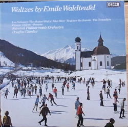 Waltzes by Emil Waldteufel. Incl. The Skaters Waltz. Douglaus Gamley, National PO. 1 LP. Decca SXL 6704