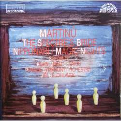 Martinu: The Spectre's Bride. + Nipponari + Magic Nights. Jiri Belohlavek, Kühn Mixed Chorus and Prague SO. 1 CD. Supraphon.