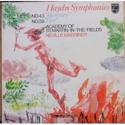 Haydn: Symfoni nr. 43 & 59. Neville Marriner, Academy of St. Martin in the Fields. 1 LP. Philips. 9500159