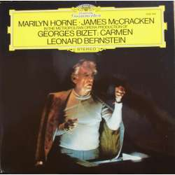 Bizet: Carmen in highlights. Leonard Bernstein. Marilyn Horne, James McCracken. 1 LP. DG 2530534