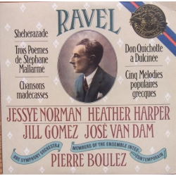 Ravel: Sheherazade. Chansons madecasses. Jessey Norman, Pierre Boulez, BBC SO. 1 CD. Sony