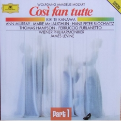 Mozart: Cosi fan Tutte. te Kanawa, Murray. James Levine. 3 CD. DG