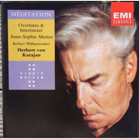 Meditation. Anne Sophie Mutter, Karajan. 1 CD. EMI