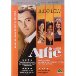 Alfie. Film med Jude Law. 1 DVD