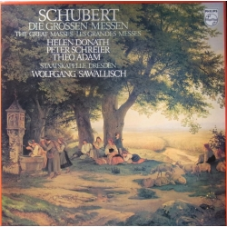 Schubert: The Great Masses. Sawallisch, Donath, Schreier, Adam. 2 LP. Philips