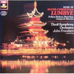 H. C. Lumbye. Famous marches and gallops. Tivoli Symphony Orch. John Frandsen. 1 LP. EMI. New Copy