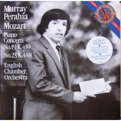Mozart: Piano Concertos nos. 19 & 23. Murray Perahia, ECO. 1 LP. CBS. A brand new copy