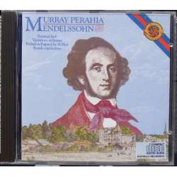Mendelssohn: Klaversonate Opus 6, 14, 35, 54. Murray Perahia. 1 CD. Sony