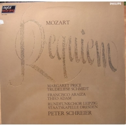 Mozart: Requiem. Price, Schmidt, Araiza, Adam. Peter Schreier. 1 LP. Philips