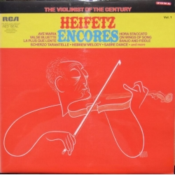 Heifetz Encores Vol. 1. 1 LP. RCA Living Stereo