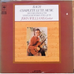 Bach: Complete lute music. John Williams. 2 LP. CBS
