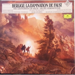 Berlioz: The Damnation of Faust. Seiji Ozawa. Mathis, Burrow, McIntyre. Boston Symphony Orchestra. 2 LP. DG.