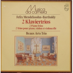 Mendelssohn: Klavertrio nr. 1 & 2. Beaux Arts Trio. 1 LP. Philips