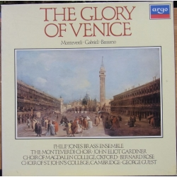 The Glory of Venice. Monteverdi, Gabrielli, Bassano. 3 LP. Argo