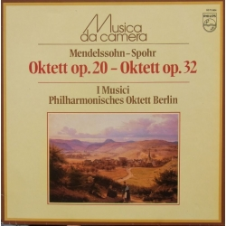 Mendelssohn - Spohr: Octets. I Musici. 1 LP. Philips. New Copy