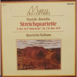 Dvorak: String Quartet Op. 96. 'American' & Borodin: String Quartet no. 2. Quartetto Italiano. 1 LP. Philips. 6503109. New copy