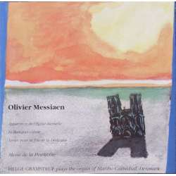 Messiaen: Organ music. Helge Gramstrup. 1 CD. OTR