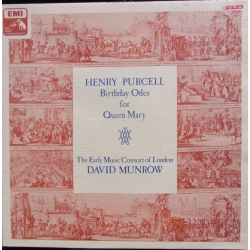 Purcell: Birthday ode to Queen Mary. David Munrow. 1 LP. EMI. ASD 3166