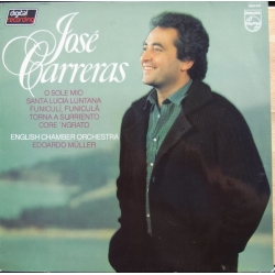 Jose Carreras: O Sole Mio, Santa Lucia Luntana. 1 LP. Philips. 9500943